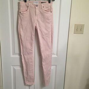 Parker Smith Pale Pink Skinny Jeans